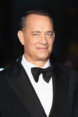"Tom Hanks at the premiere of ""Captain Phillips"" during the opening night of 57th BFI London Film Festival."