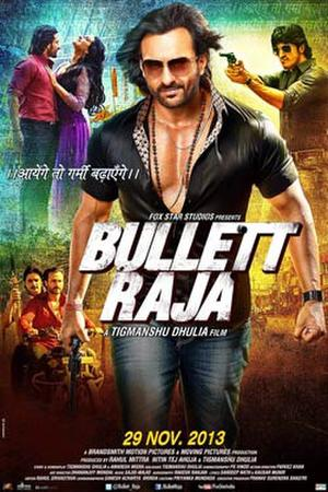 "Poster art for ""Bullett Raja."""