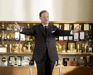 "Tom Hanks as Walt Disney in ""Saving Mr. Banks."""