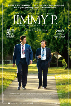 """Poster art for """"Jimmy P."""""""