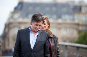 """Gabriel Byrne and Emmanuelle Devos in """"Just a Sigh"""""""