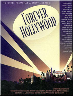 "Poster art for ""Forever Hollywood Tour."""
