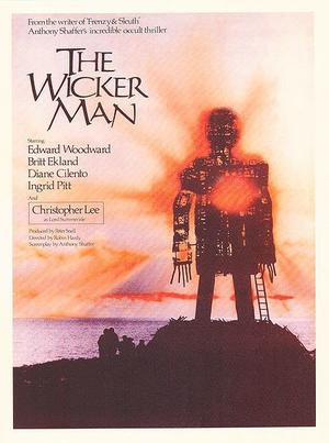 """Poster art for """"The Wicker Man."""""""