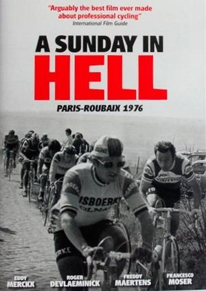 """Poster art for """"A Sunday in Hell."""""""