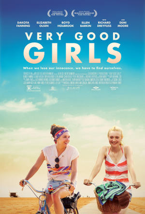 "Poster art for ""Very Good Girls."""
