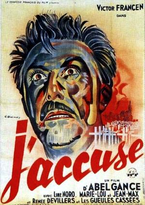 """Poster art for """"J'Accuse."""""""