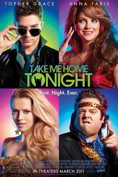 take me home tonight, movie poster