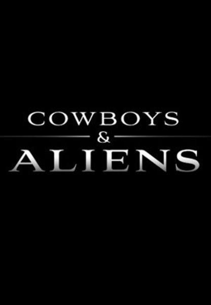 cowboys vs aliens, movie poster
