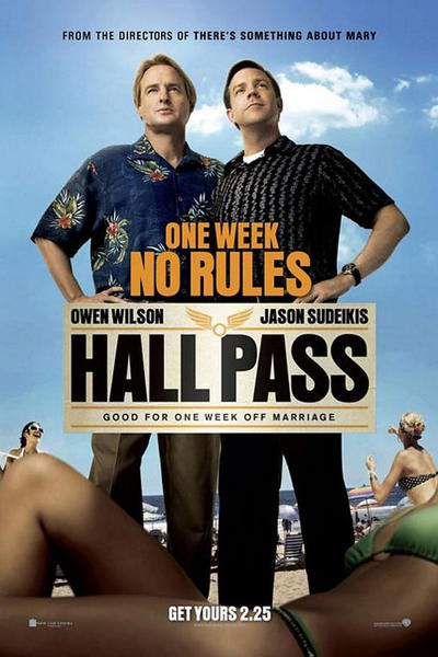 hall pass, movie poster, wallpaper, background