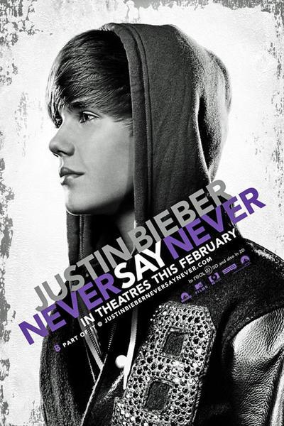 justin bieber, never say never