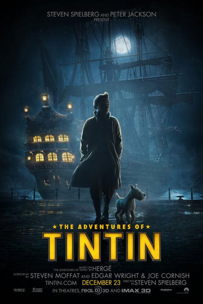 tintin final Comic Con: What We Learned From Steven Spielberg and Peter Jackson About Tintin, Jurassic Park IV, The Hobbit and More