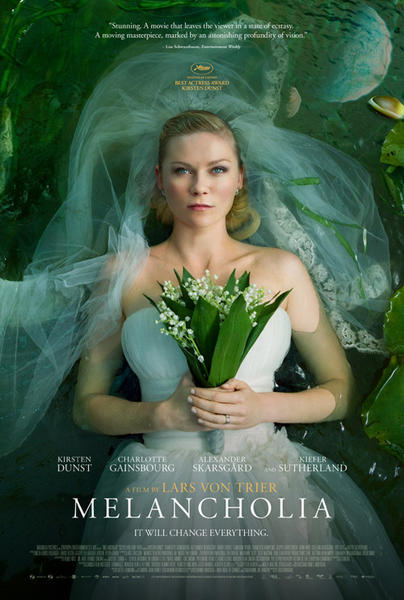 melancholia final poster Melancholia FF Review: Beautiful, Fragile, and Without Much to Say