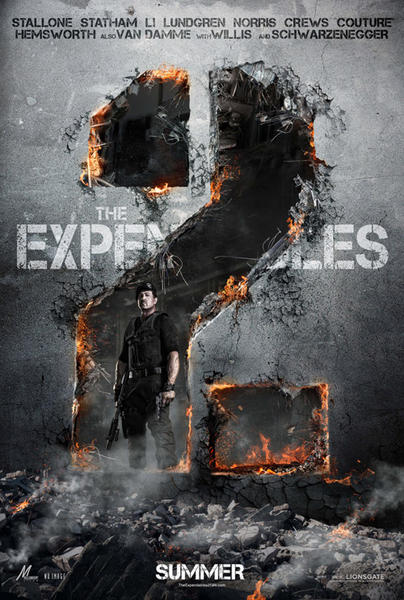 expendablesposter2 Trailer Truth: Do the Ads Help or Hurt The Expendables 2?