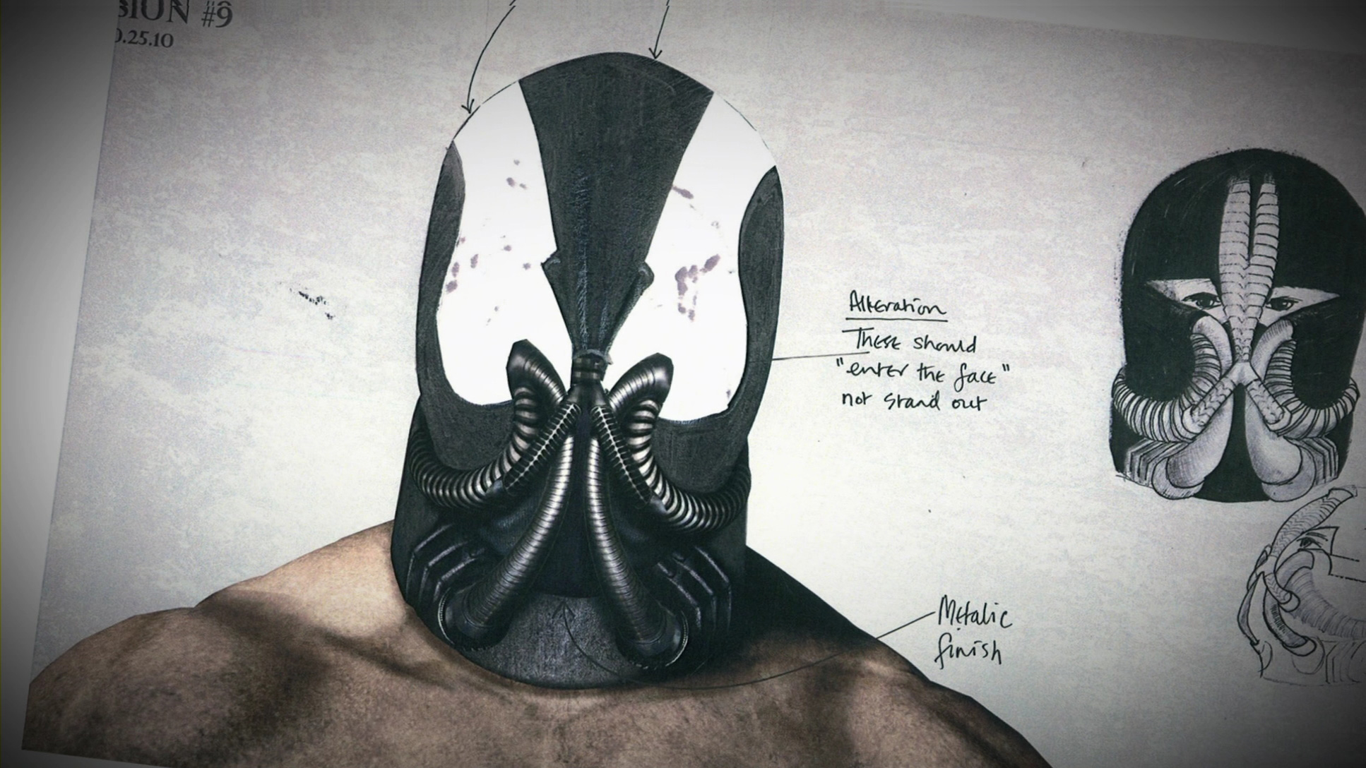 THE DARK KNIGHT RISES More Variations Of Baneu0027s Mask u0026 Concept Art Of The Bat & THE DARK KNIGHT RISES: More Variations Of Baneu0027s Mask u0026 Concept Art ...