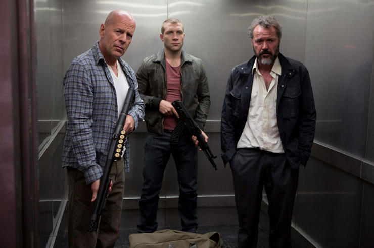 agooddaytodiehard mv 7 Box Office Report: A Good Day to Die Hard is #1, but Not By Much