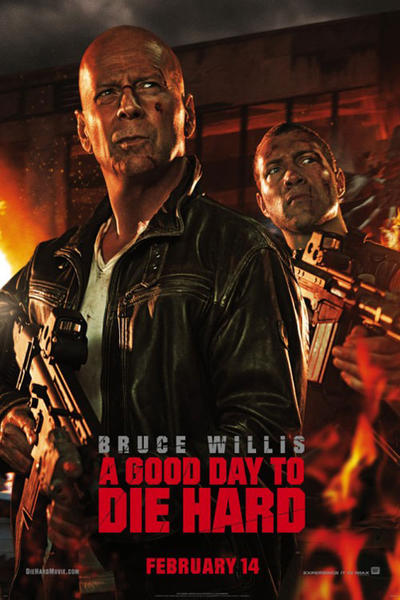 diehard5 131f Box Office Report: A Good Day to Die Hard is #1, but Not By Much