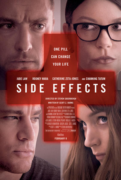 sideeffects1 Box Office Report: Identity Thief Takes Everyones Money and Triples Soderberghs Latest