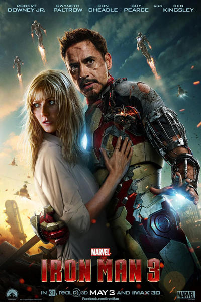 ironman3 36f Box Office Report: Iron Man 3 Becomes #2 Opener of All Time; Poised For Summer Crown