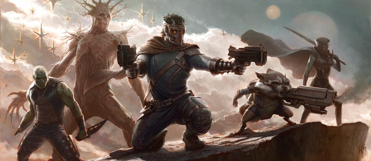 theguardiansofthegalaxy mv 1 New Concept Art Reveals More of Marvels Guardians of the Galaxy and Captain America 2 (Updated)