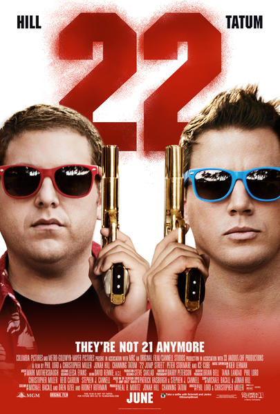 22jumpstreet posterart The Directors of 22 Jump Street and The Lego Movie Talk About Breaking the Sequel Mold, Ghostbusters 3 and More