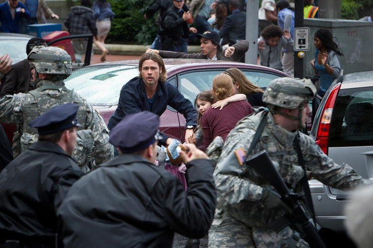 Six Things We Learned While Watching 'World War Z' With Brad Pitt...