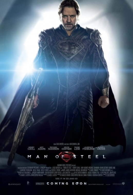 New Movie Posters: 'Man of Steel,' 'Pacific Rim,' 'The Wolverine,' and More...