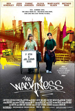 "Poster art for ""The Wackness."""