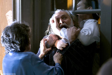 Elaine Kagan as Wanda, Rade Sherbedgia as Yuri and Craig Susser as a Hazmat Doctor in