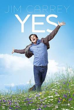 "Poster art for ""Yes Man."""