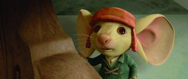 "Noble mouse Despereaux in ""The Tale of Despereaux."""