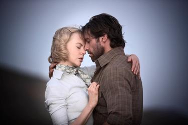 "Nicole Kidman and Hugh Jackman in ""Australia."""