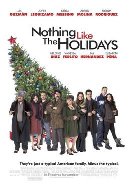 "Poster Art for ""Nothing Like the Holidays."""