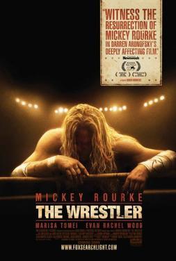 """Poster Art for """"The Wrestler."""""""