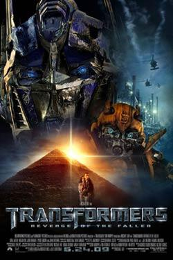 "Poster art for ""Transformers: Revenge of the Fallen."""