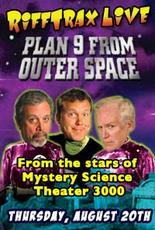 """Poster art for RiffTrax LIVE: Plan 9 from Outer Space"""