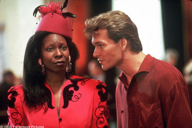 """Whoopi Goldberg and Patrick Swayze in """"Ghost."""""""