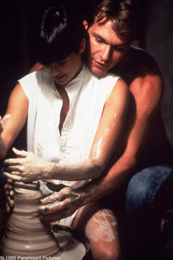 """Demi Moore and Patrick Swayze in """"Ghost."""""""