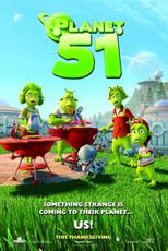 Planet 51 Poster