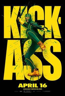 "Poster art for ""Kick-Ass."""