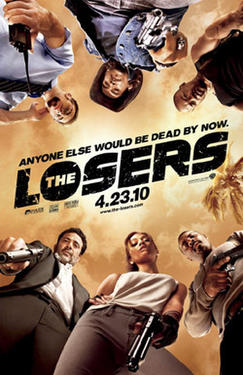 "Poster art for ""The Losers."""