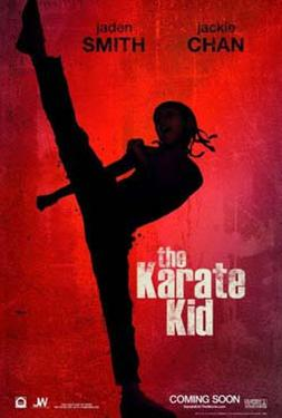 "Poster art for ""The Karate Kid."""