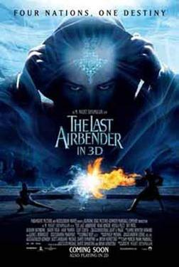 "Poster art for ""The Last Airbender."""