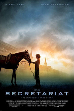 "Poster art for ""Secretariat."""