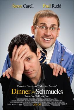 "Poster art for ""Dinner for Schmucks."""