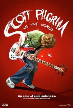 "Poster art for ""Scott Pilgrim vs. the World."""