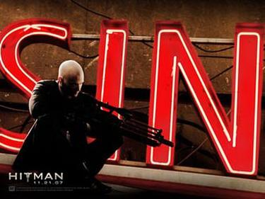 "Poster art for ""Hitman."""