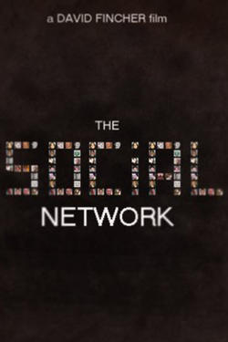 "Poster art for ""The Social Network"""