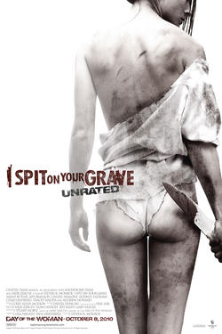 """Poster art for """"I Spit on Your Grave"""""""