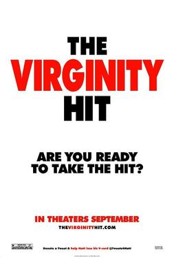 "Poster art for ""The Virginity Hit."""