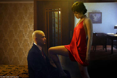 Timothy Olyphant and Olga Kurylenko in &quot;Hitman.&quot;